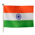 Buy Indian Flag - Paper Material - Medium Online