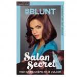 Buy Salon Secret High Shine Creme Hair Colour - Mahogany Reddish Brown Online