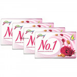 Buy No 1 - Soap - Rosewater Almond With Natural oil Pack of 4 Online