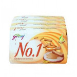 Buy No 1 - Soap - Sandal-Turmeric Pack OF 4 Online