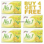 Buy No 1 Soap Lime Alovera Natural Oils Online