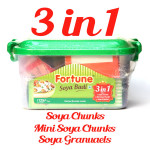 Buy Soya Badi Combo - Chunks-Mini Chunks-Granules Online