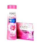 Buy Ponds Dreamflower Fragrant Talc pink lily 100gm Online