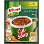 Buy Knorr Hot and SOur Veg Soup Rs 10 Online