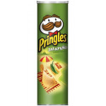 Buy Pringles Potato Crisps – Spanish Style Jalapeno Cheese Flavour Online
