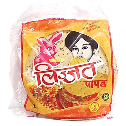 lijjat papad We are the most reputed exporter and supplier intended to offer incomparable quality papadunder the intervention of our vendors' virtuoso, the offered pappad is made with high grade edible oil, flour, milk, etc which ensure its purity and long shelf life in compliance with predefined industry standards.