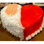Buy Black Forest Heart Cake Online