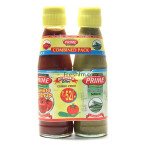Buy Dhamaka Pack - Tomato Ketchup + Green Chilli Sauce Online