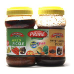 Buy Pickle Combo Pack - Mix Pickle + Sweet Mango Pickle Online