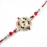 Buy Diamond Designed Rakhi Online